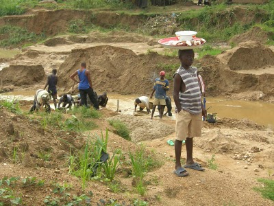 Kono District, Diamond Mining...